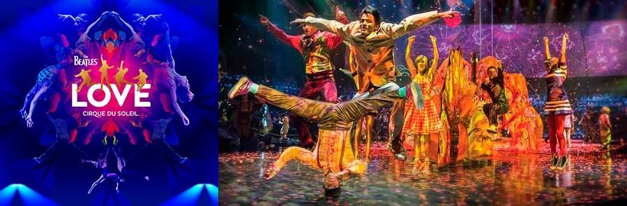 BEATLES LOVE - Cirque du Soleil - Las Vegas
